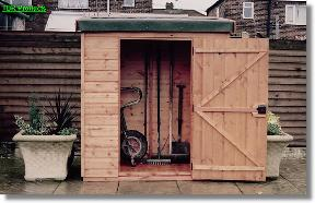 Tool tidys for Garden shed 5x3