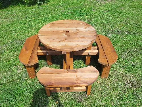 Pub Picnic Benches Round Tables Excalibur Round Picnic Tables Picnic Tables Octagonal Tables